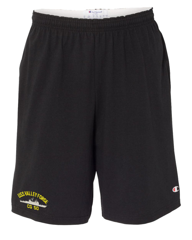USS Valley Forge CG-50 Cotton Champion® Shorts