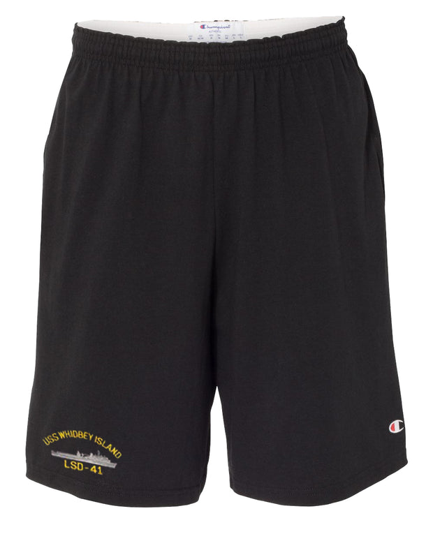 USS Whidbey Island LSD-41 Cotton Champion® Shorts