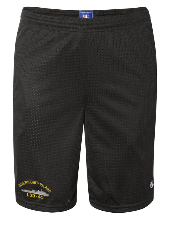 USS Whidbey Island LSD-41 Mesh Champion® Shorts