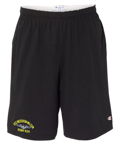 USS Woodrow Wilson SSBN-624 Cotton Champion® Shorts