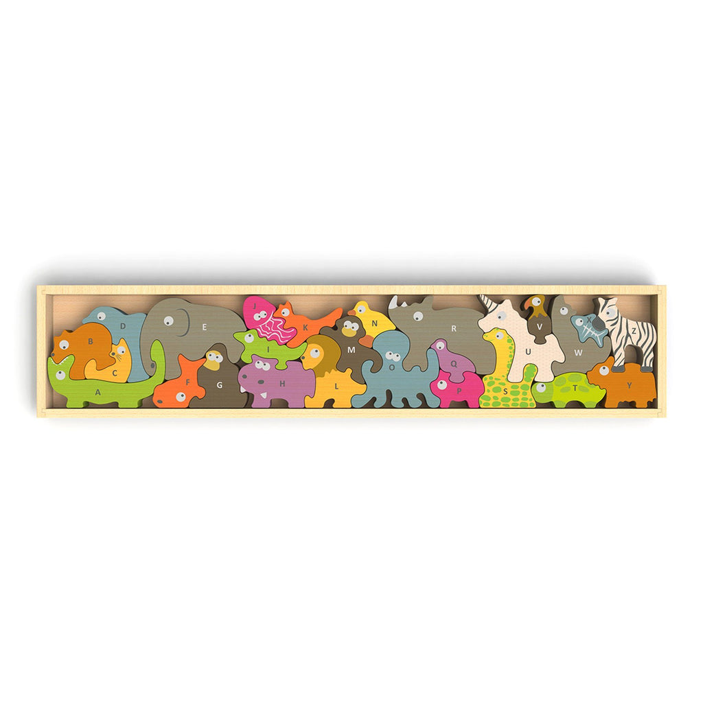 Begin Again Animal Parade Puzzle & Playset