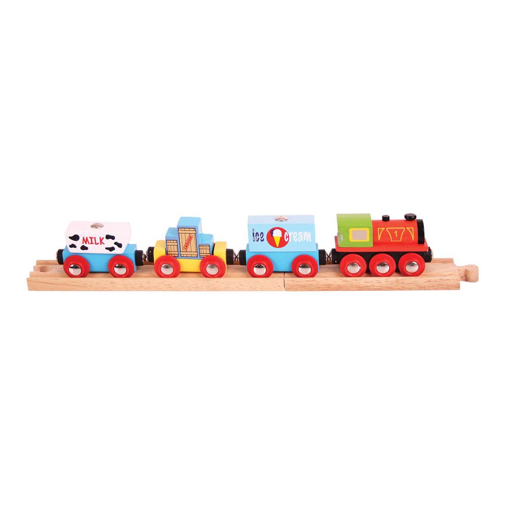 Wooden Goods Train