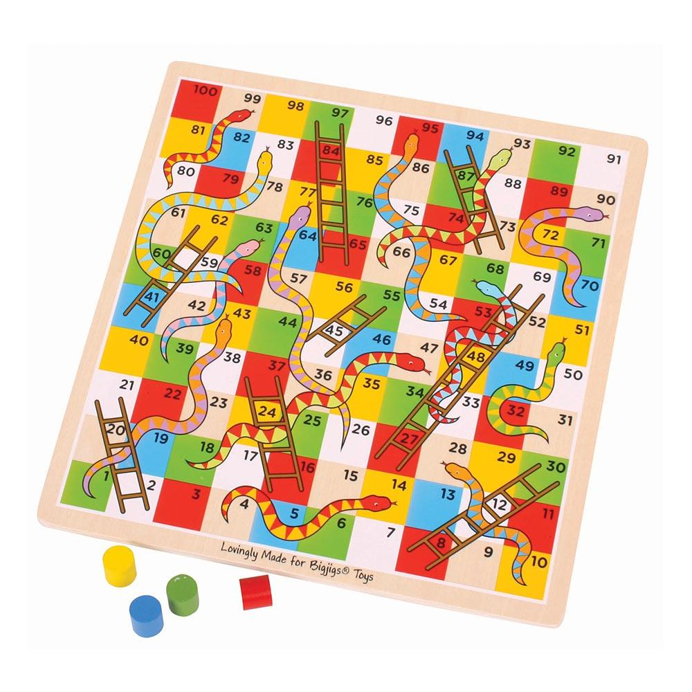 Bigjigs snakes and ladders
