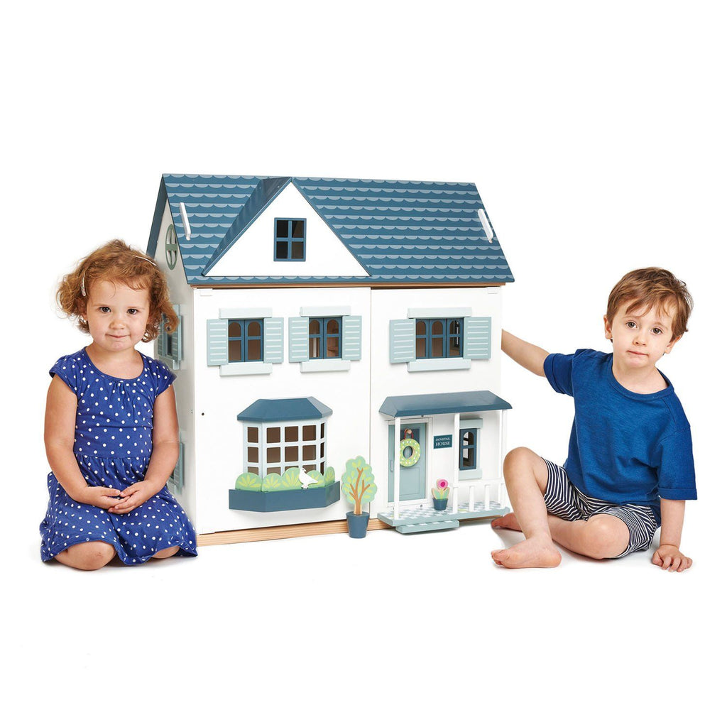 Tender Leaf Toys Dovetail House Wooden Dolls House
