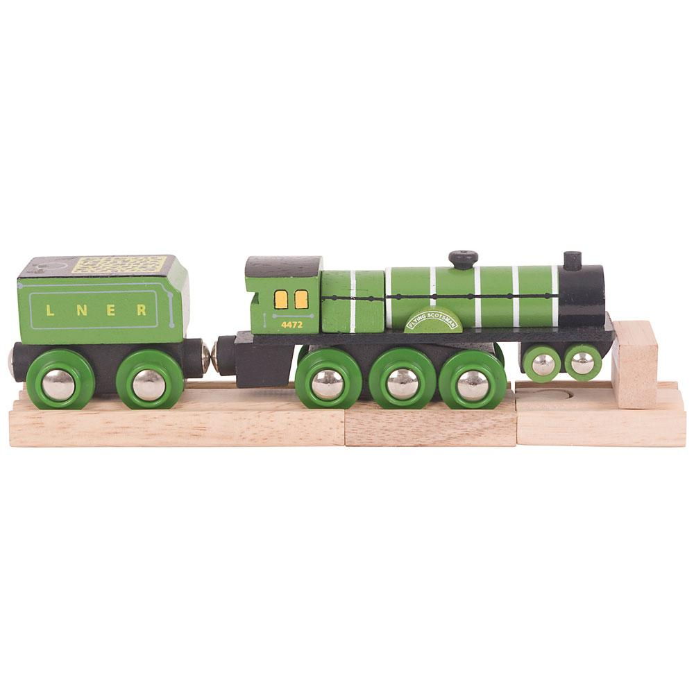 Bigjigs Flying Scotsman Wooden Train