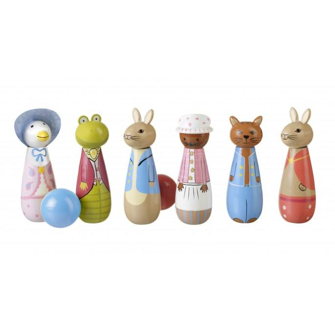 Orange Tree Toys Peter Rabbit Wooden Skittles