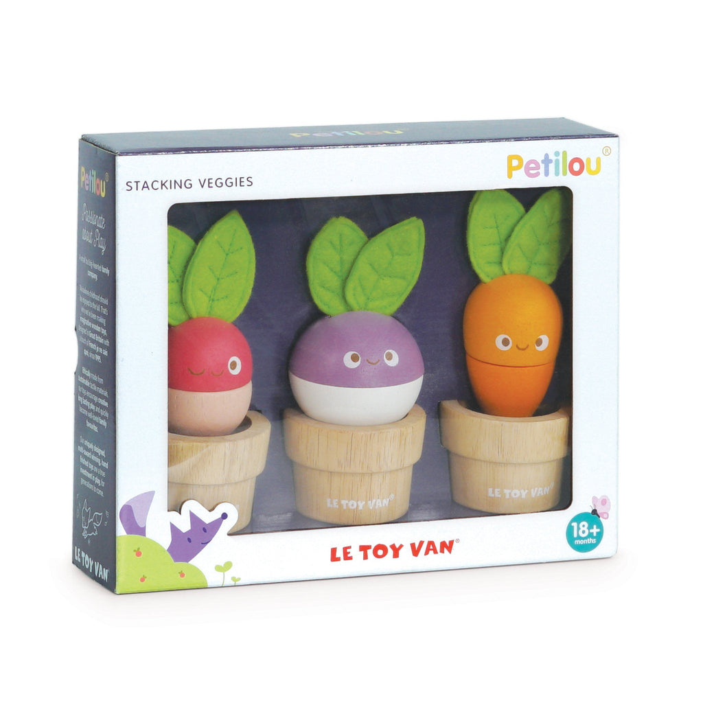 Le Toy Van Stacking Veggies