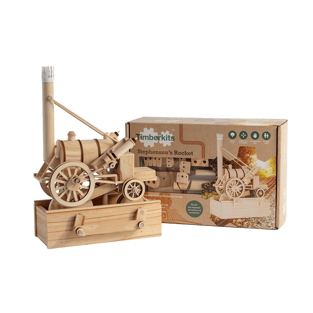 Wooden construction toy