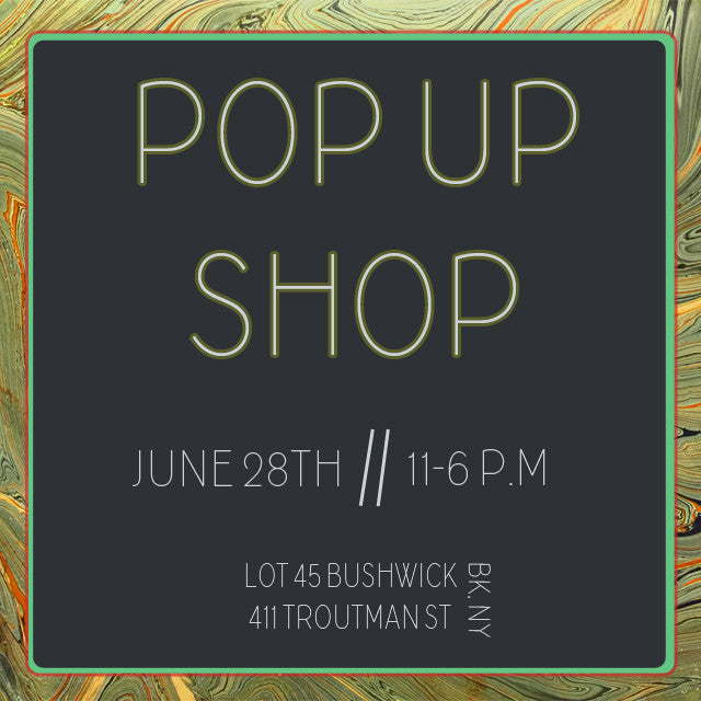 Summer Pop-Up Market