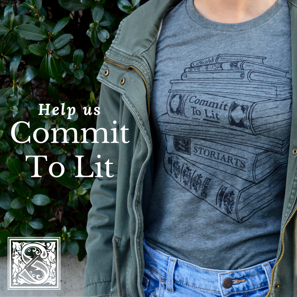 Join Storiarts as we #CommitToLit!