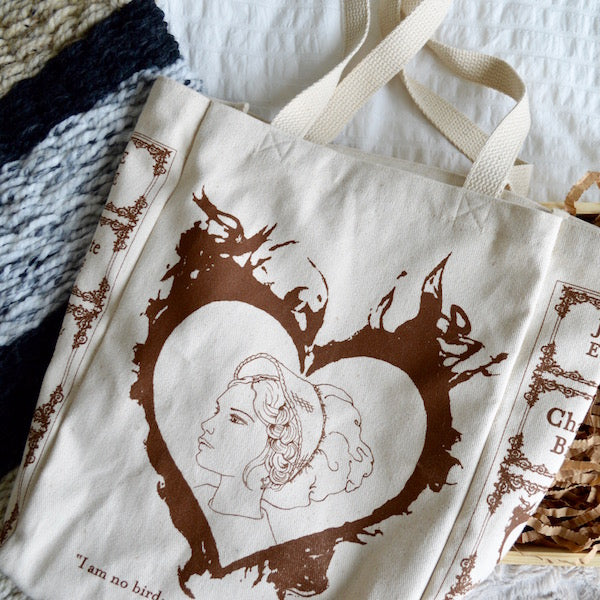 New: Jane Eyre Book Tote