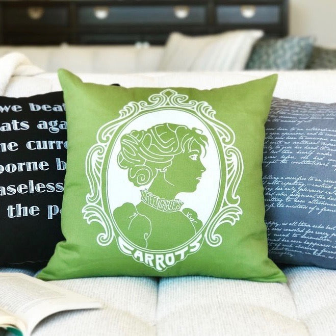 Setting is Everything - Literary Pillows for Your Book Nook