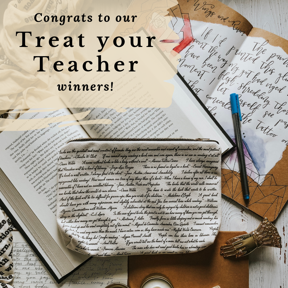 Congrats to our Treat your Teacher Winners!