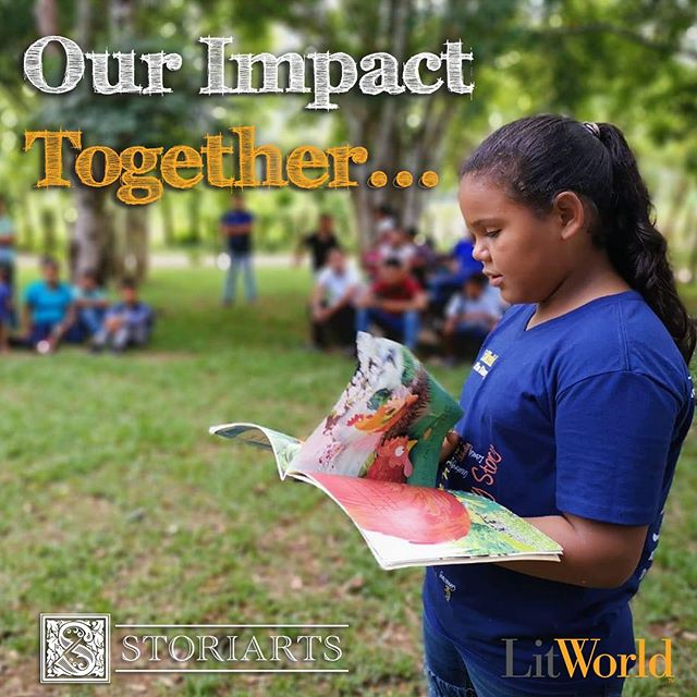 Storiarts 2019 Impact Report: You helped make the world better last year.