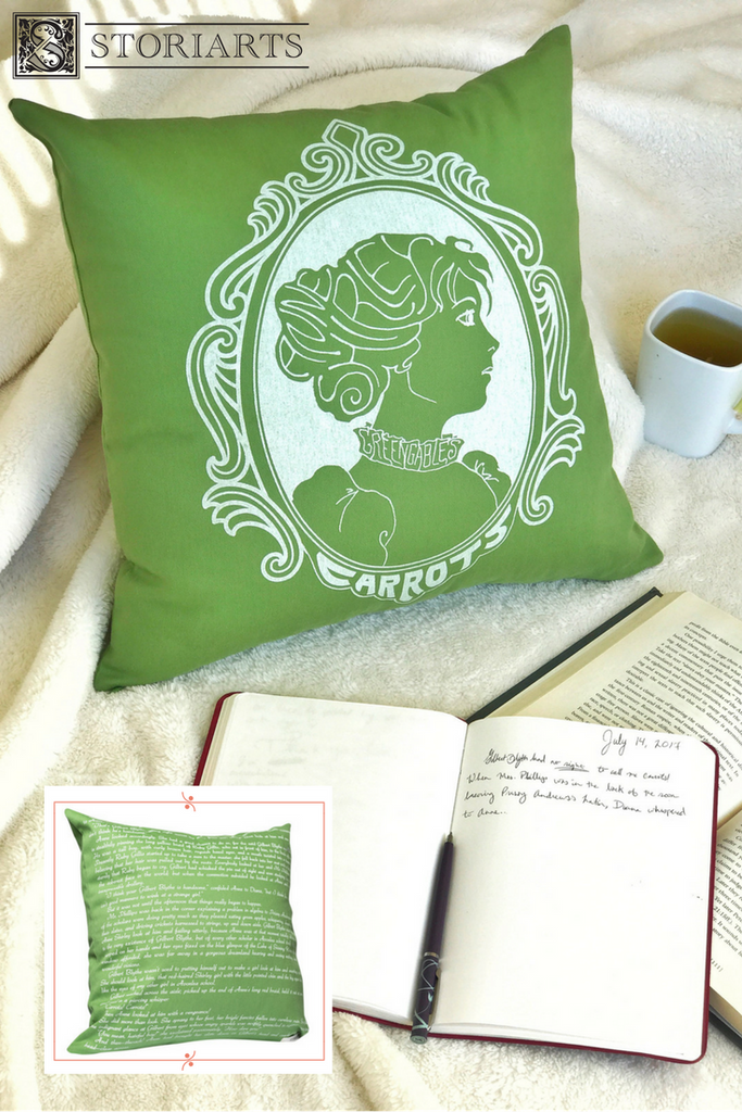 Literary Pillow Covers by Storiarts featuring Anne of Green Gables and many more of your favorite books!