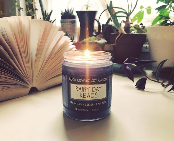 Rainy Day Reads 8oz candle