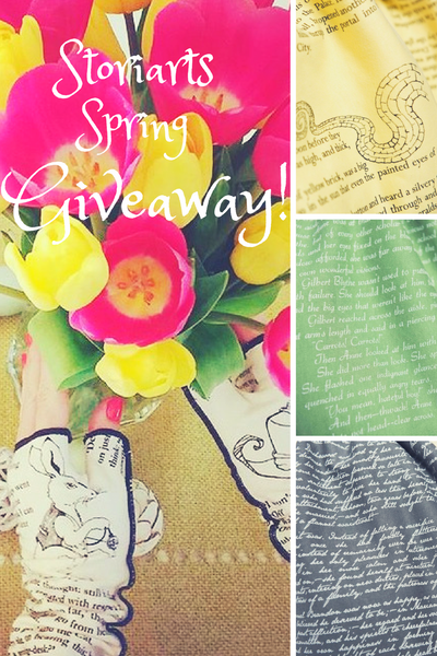 Storiarts Spring Giveaway! Win ANY literary item in our store! For book lovers only.