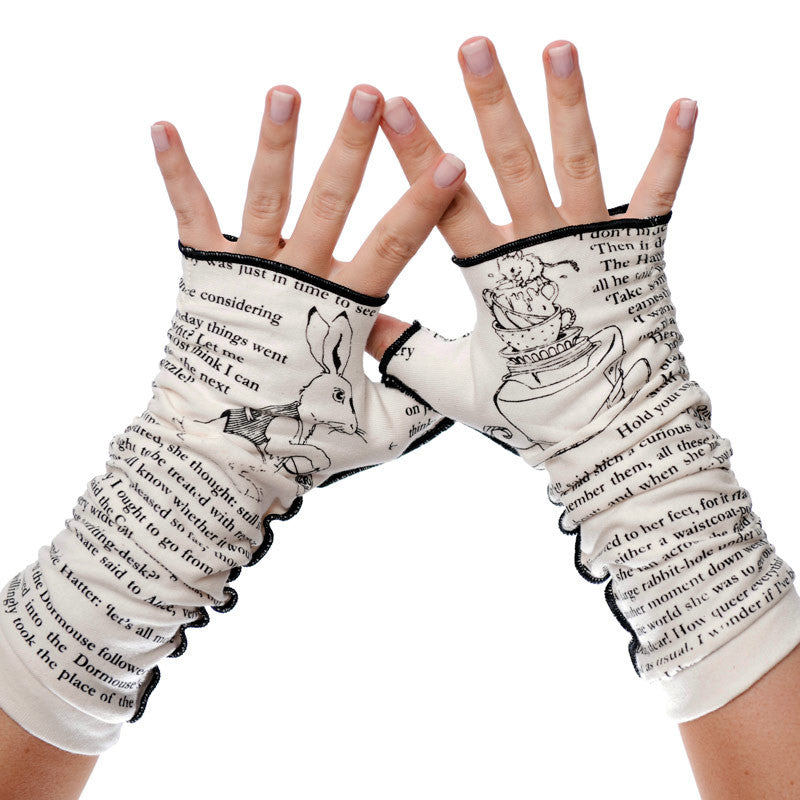 Alice in Wonderland Writing Gloves - Storiarts - 1