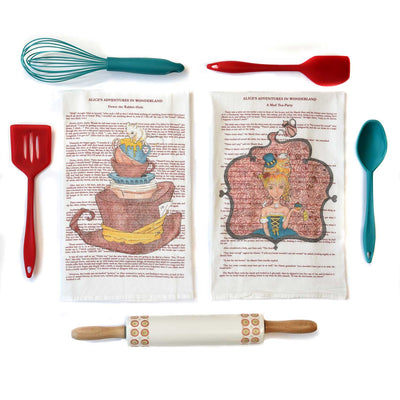 Alice in Wonderland Tea Towel (Part 1)