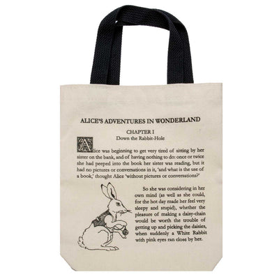 Alice in Wonderland Book Tote