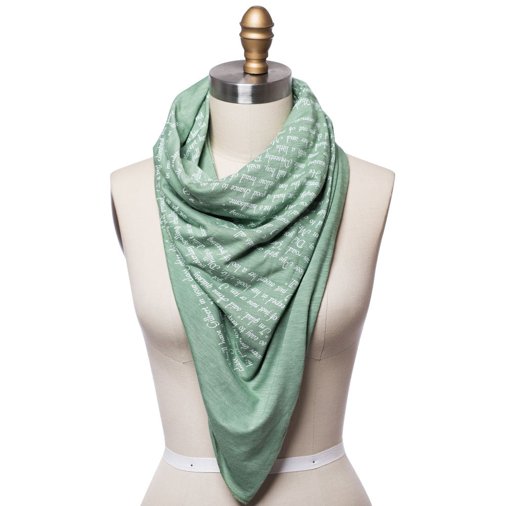 Anne of Green Gables Lightweight Literary Scarf