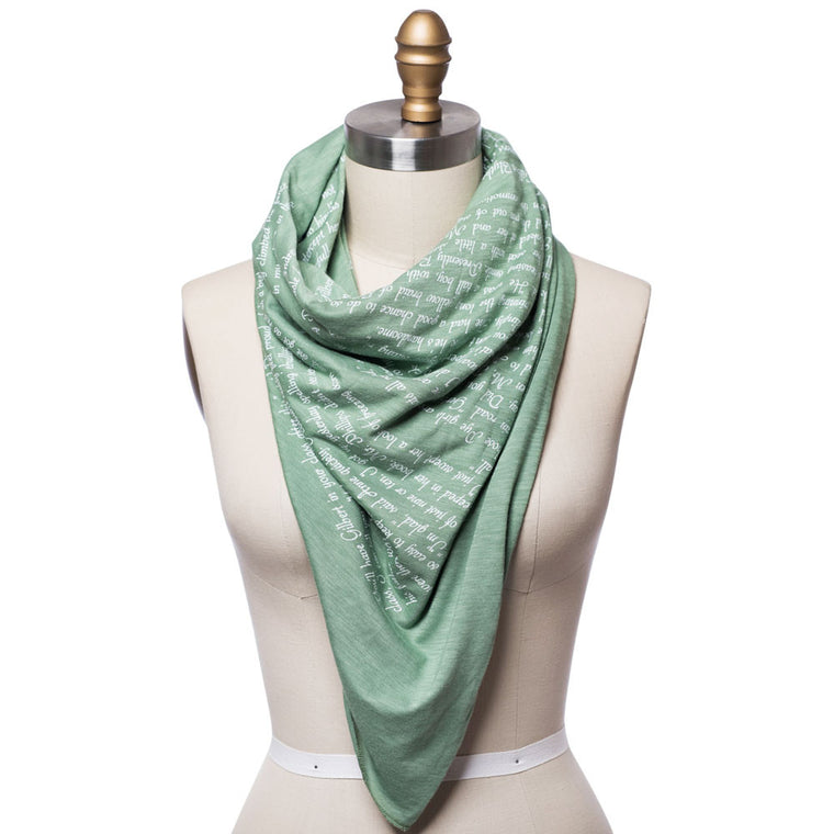 Book Scarves Literary Scarves Infinity Scarves Storiarts