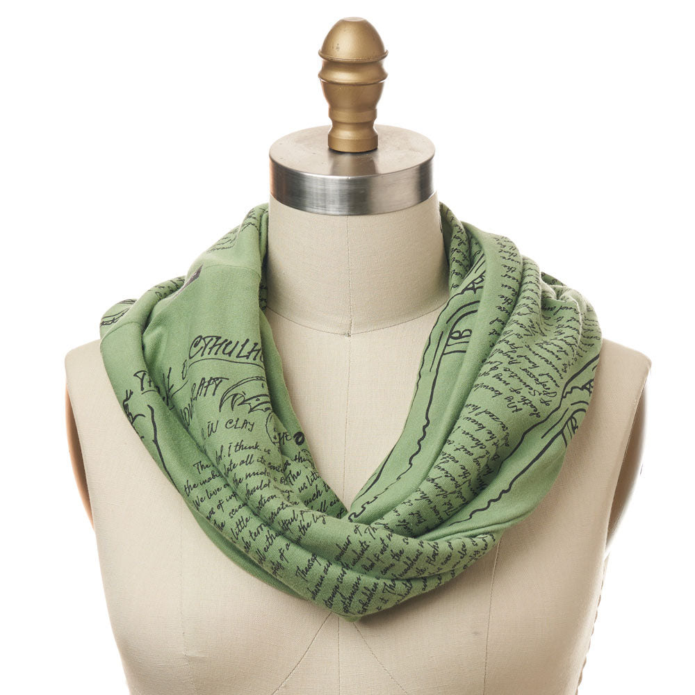 The Call of Cthulhu Book Scarf