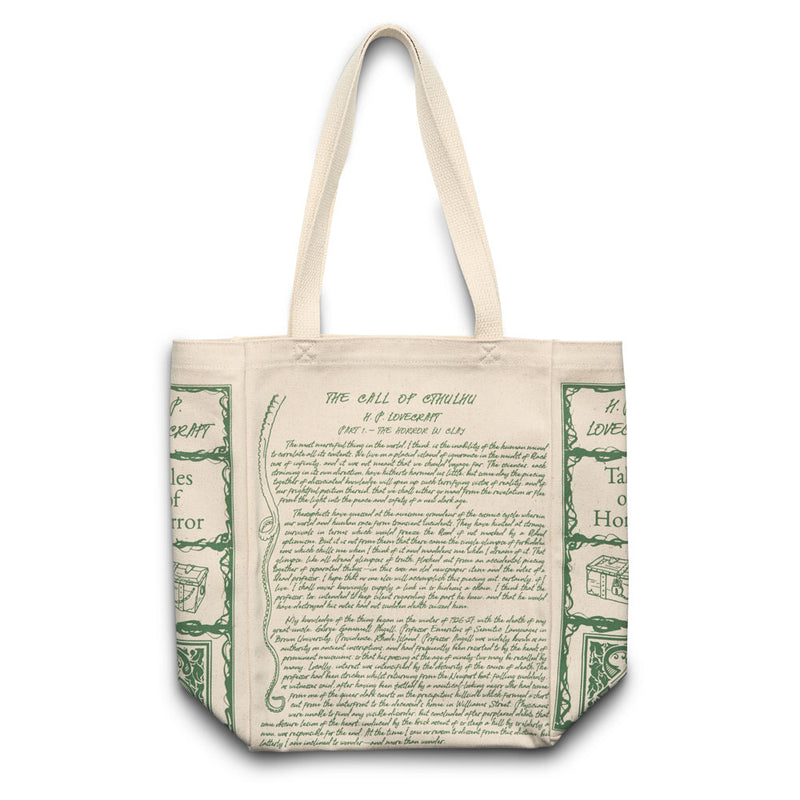 The Call of Cthulhu Book Tote