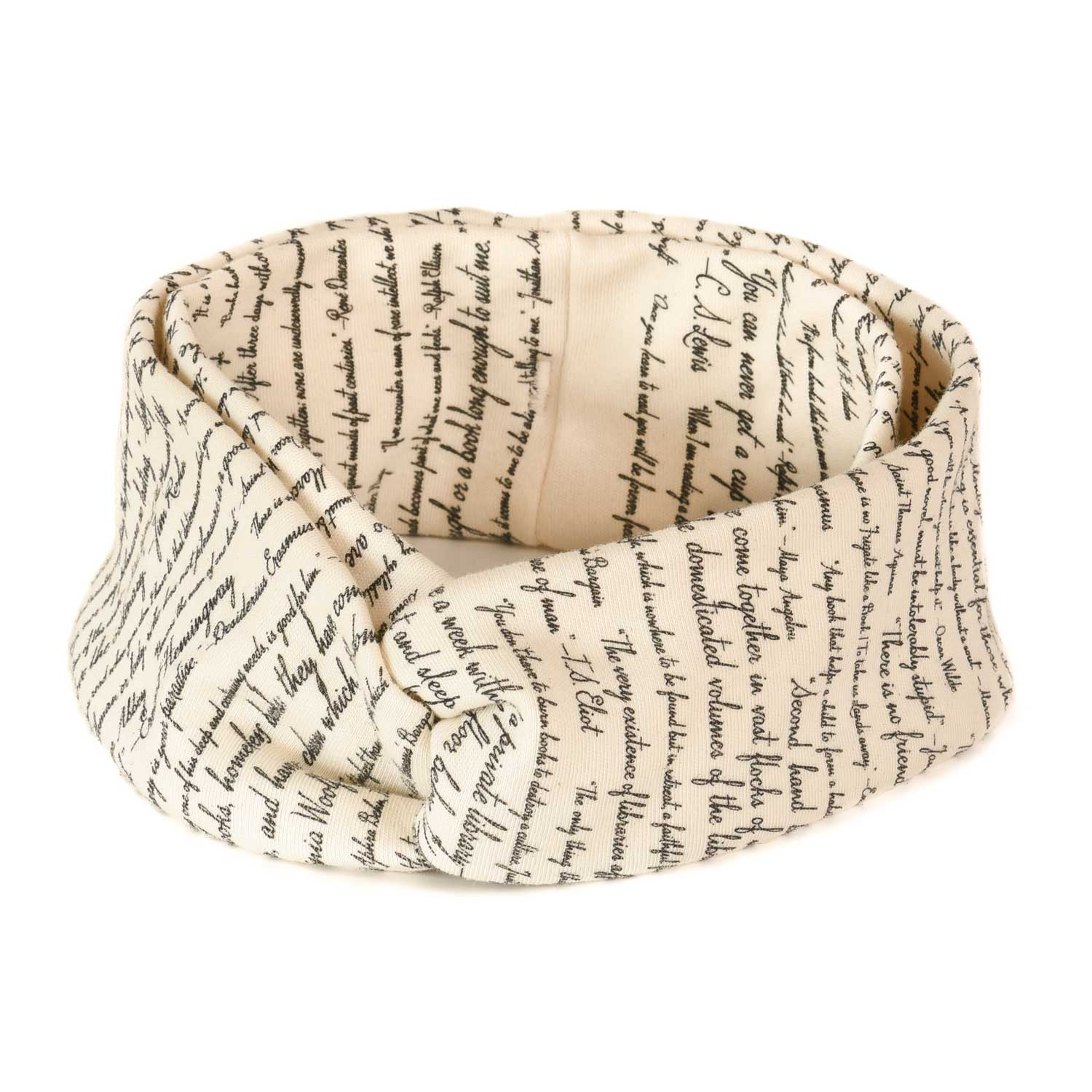 Commit To Lit Bookband Headband