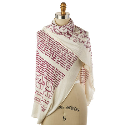 Charlie and the Chocolate Factory Lightweight Literary Scarf