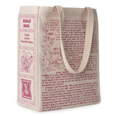 Charlie and the Chocolate Factory Book Tote