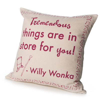 Charlie and the Chocolate Factory Pillow Cover