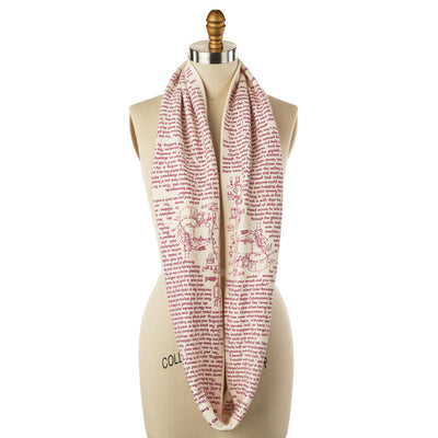 Charlie and the Chocolate Factory Book Scarf