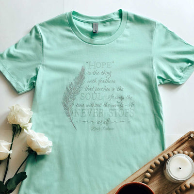 Emily Dickinson Quote Tee