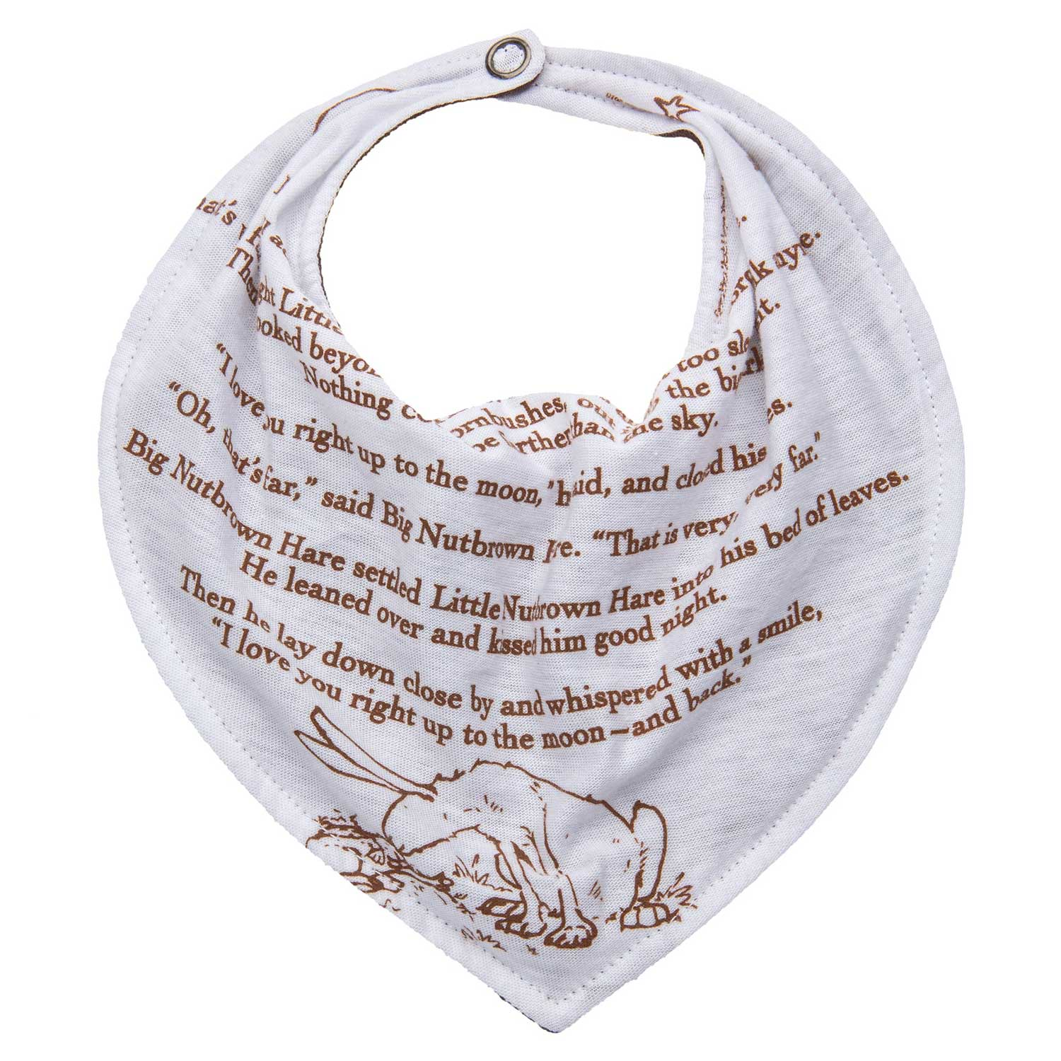 Guess How Much I Love You Storybook Bib