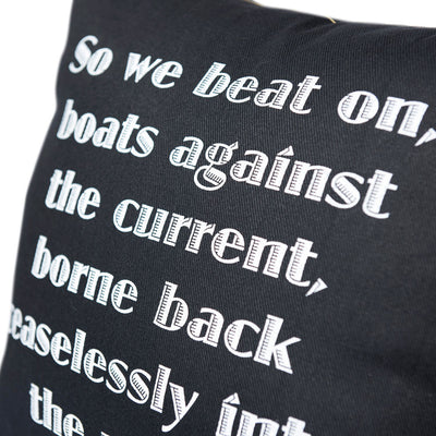 The Great Gatsby Pillow Cover