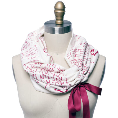 I Carry Your Heart Light Weight Summer Book Scarf - Storiarts - 1