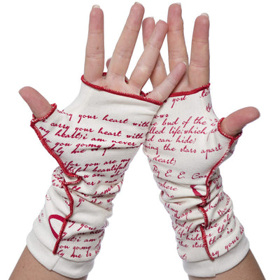I Carry Your Heart Writing Gloves - Storiarts - 3