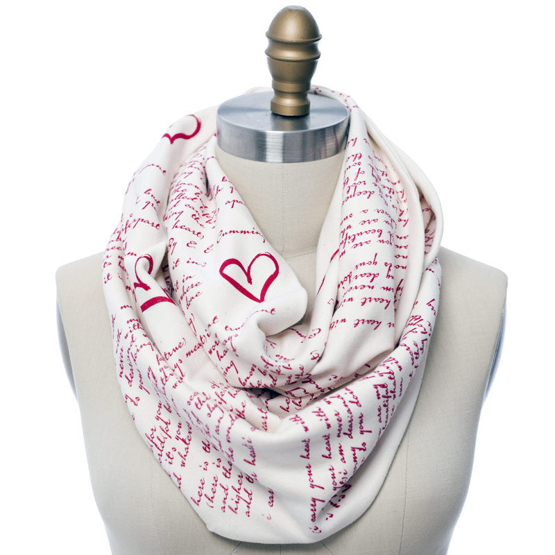 I Carry Your Heart Book Scarf - Storiarts - 1