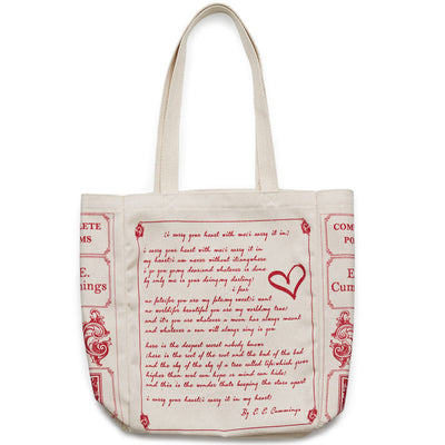 I Carry Your Heart Book Tote