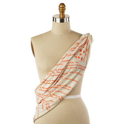 James and the Giant Peach Lightweight Literary Scarf