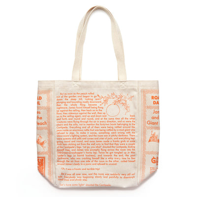James and the Giant Peach Book Tote