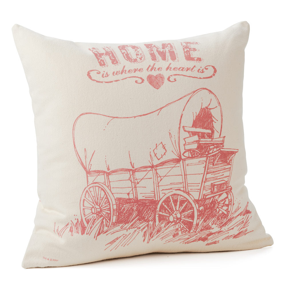 Little House on the Prairie Pillow Cover