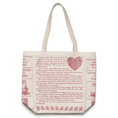Little House on the Prairie Book Tote