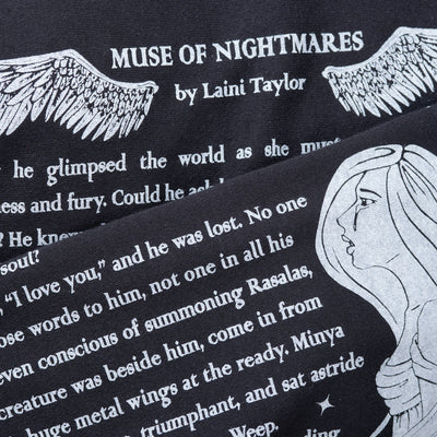 Muse of Nightmares Book Scarf