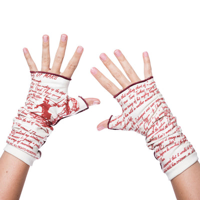 A Princess of Mars Writing Gloves