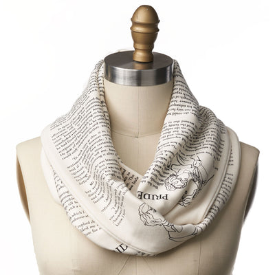 Pride and Prejudice Book Scarf - LIMITED EDITION