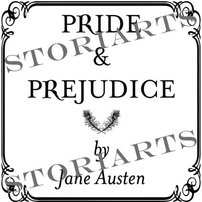 Pride and Prejudice Pillow Cover - Second Edition
