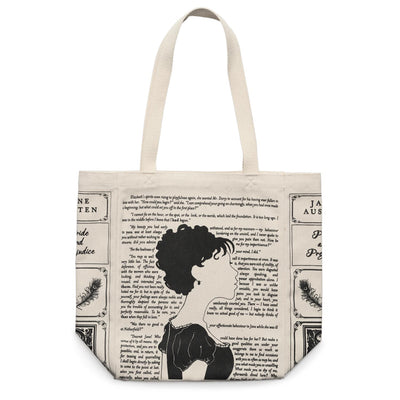 Pride and Prejudice Book Tote