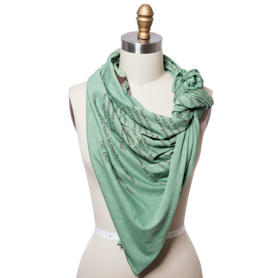 Peter Pan Lightweight Literary Scarf